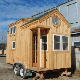 8x16 Dormered Tiny House on Wheels - Exterior