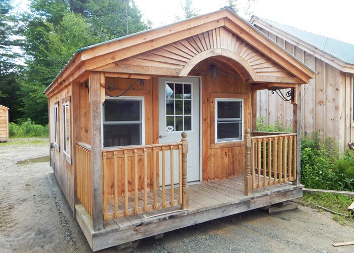 Small prefab houses small cabin kits for sale prefab for Small garages for sale