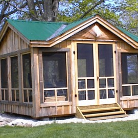 Garden Sheds Florida prefab cabin kits | cabin kit homes | prefab guest cottage