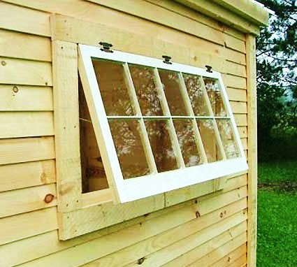 Handmade 10 pane true light horizontal barn windows, fixed or hinged, primed on one side