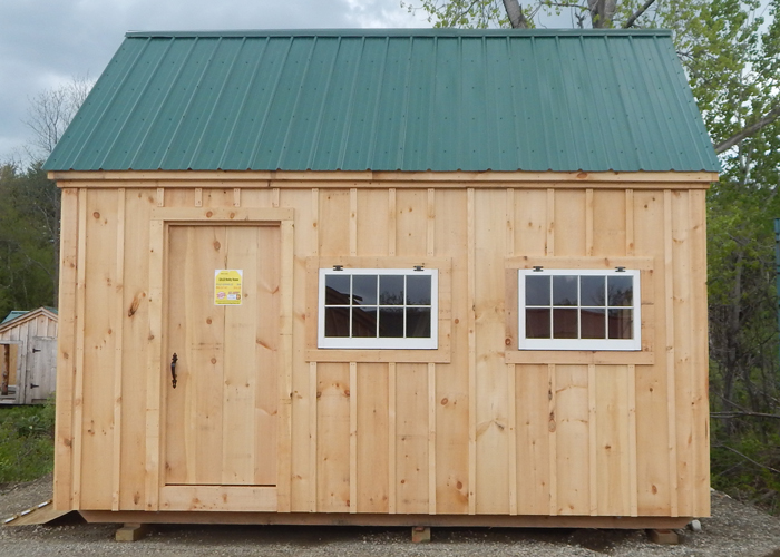 Tiny Home Designs: Board And Batten Shed Plans