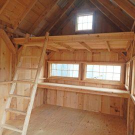 10x16 Hobby House - Interior