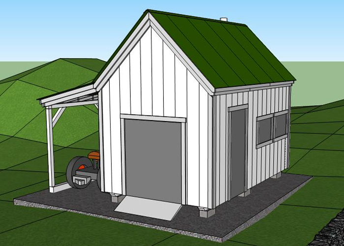 Small cabin plans with loft floor plans for cabins for Hobby barn plans