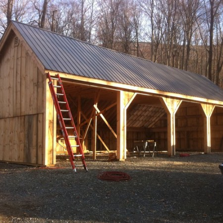 24x48 Equipment Shed