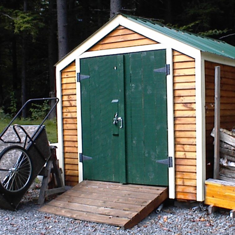 Garden Sheds Vermont kits, plans and prefab cabins from the jamaica cottage shop
