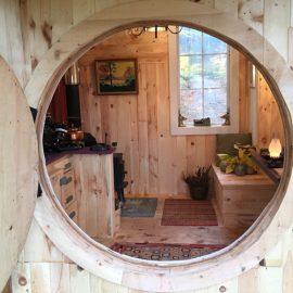 Round Door opening