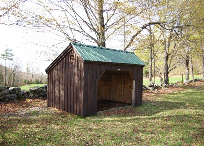 run in shed kits