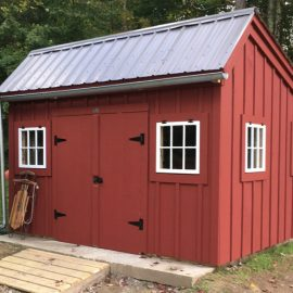 12x12 Saltbox Shed - Custom