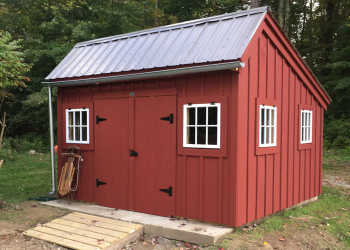 Saltbox shed plans storage buildings kits jamaica for Saltbox barn