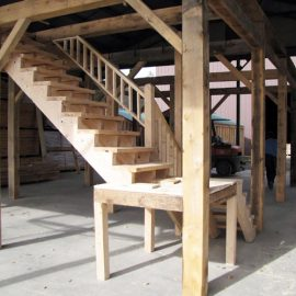 20x30 Garage Stairs