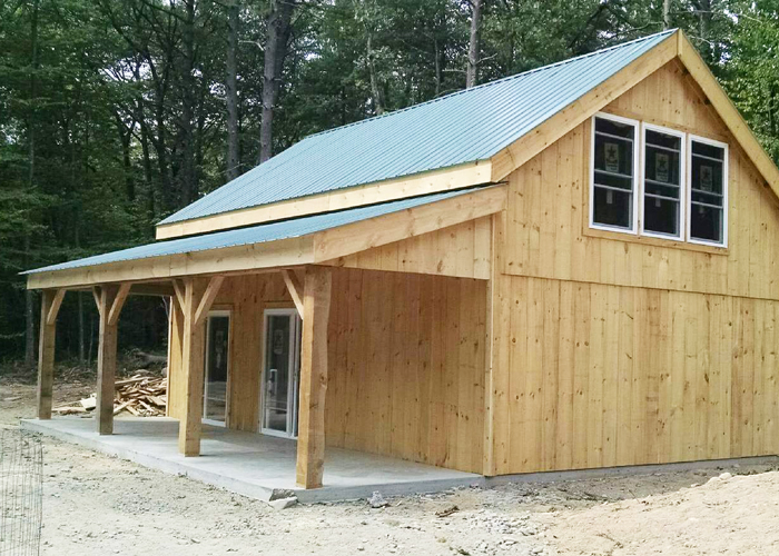 Shed Overhang Barn Overhang Porch Overhang Kit