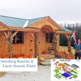 Vending Booths & Farm Stands Plans