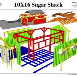 Backyard Storage Shed Plans | Cabin Plans Small